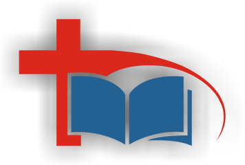 Cross and Bible - The Living Word Hibiscus Coast logo